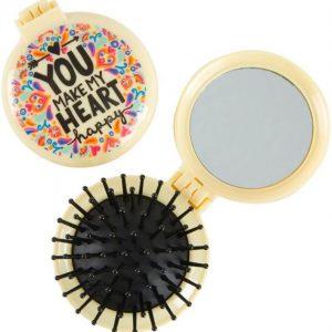 Cepillo y espejo