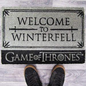 """Felpudo Juego de tronos """"Bienvenido a Invernalia"""""""