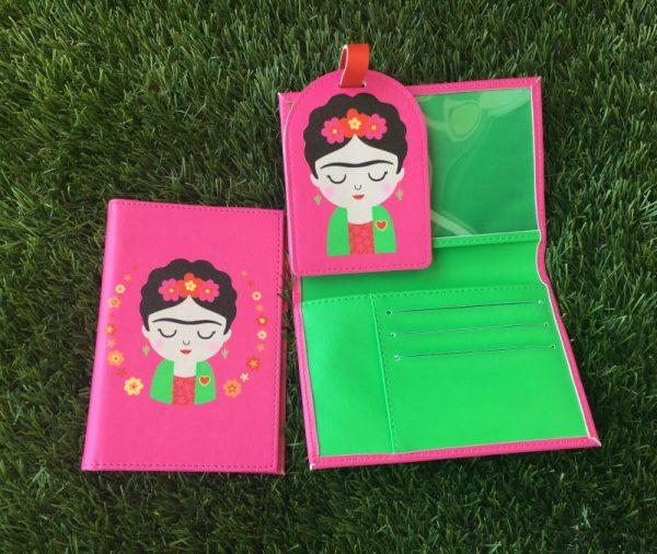 Funda pasaporte Frida