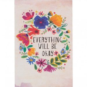 Tarjeta everything will be okay