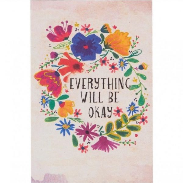 Tarjeta everything will be okay