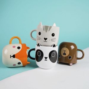 taza animales kawaii