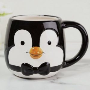 taza pingüino