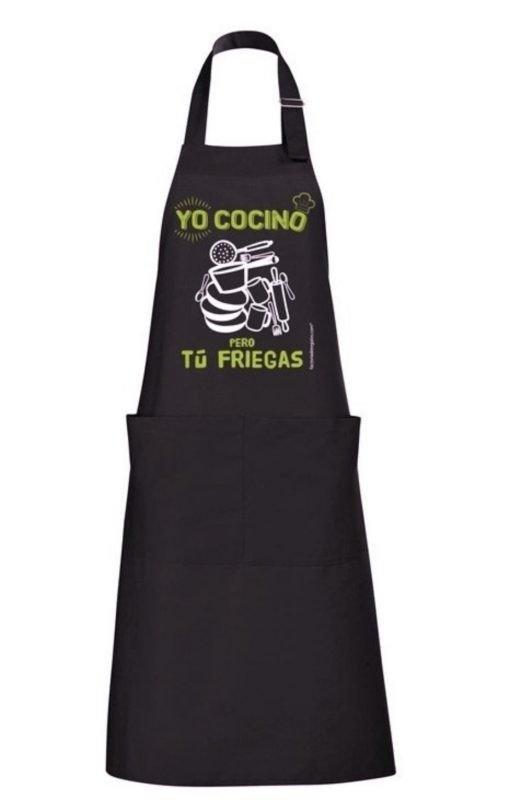 Delantal yo cocino pero tu friegas detalle1
