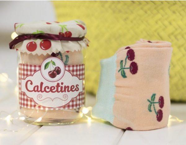 Calcetines Mermelada Cerezas