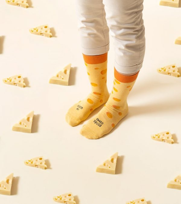 Calcetines queso