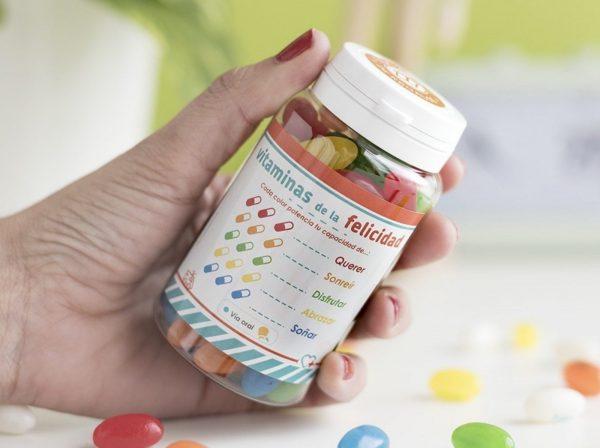 Vitaminas de la felicidad
