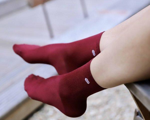 Calcetines Forma de rosa