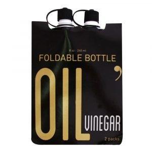 Botellas plegables aceite y vinagre