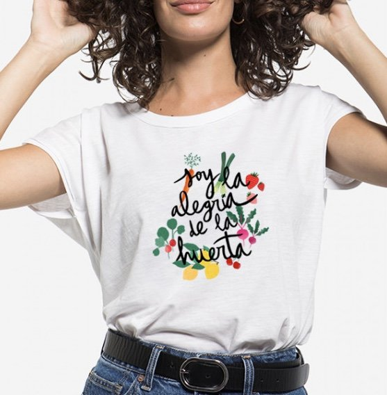 Camiseta Soy la Alegria de la huerta