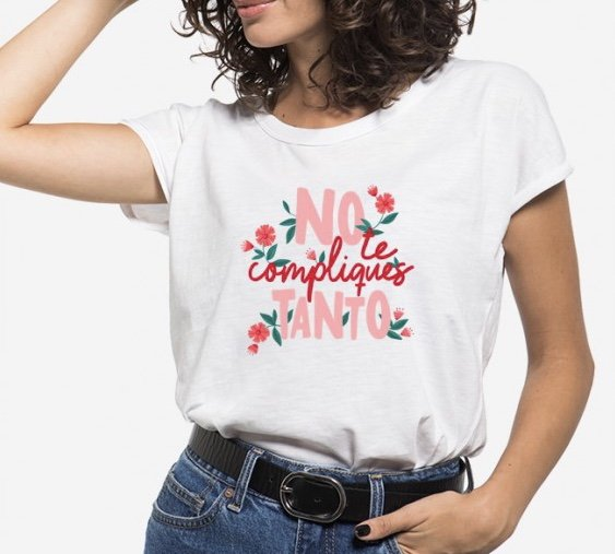 Camiseta No te compliques tanto