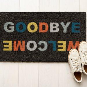 Felpudo Goodbye/welcome